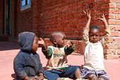 The Children Of The Franciscan Mission Of The Village Of Pomerini - Tanzania - Africa