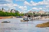 River Thames. London, England