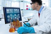 Scientist Writes Experiment Notes