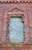 Window In An Old Brick Church