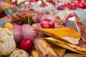 picture of parsnips  - A selection of Christmas dinner garnish - JPG