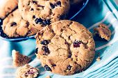 Sweet Cranberry Cookies