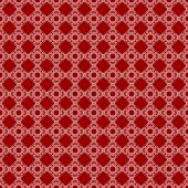 Seamless Red & White Abstract Pattern