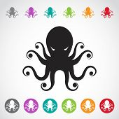 Vector Image Of An Octopus