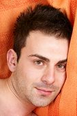 Dreamy Young Man