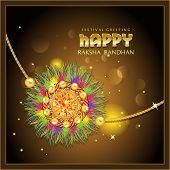 Beautiful rakhi with gems