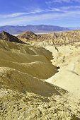 Badlands desert landscape, Death Valley National Park, California