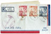 St. Lucia Postal Cover