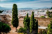 Gibralfaro Fortress (alcazaba De Malaga). Malaga City. Spain
