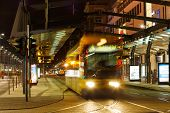 Night Traffic On The Postplatz
