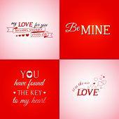 Set Of Typographic Design Elements
