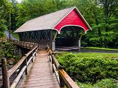 The Flume Covered Bridge