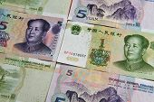 foto of yuan  - China Chinese money  - JPG