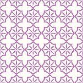 Seamless Tiling Pink Pattern