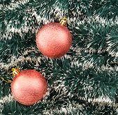 Seasonal Christmas decoration background