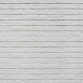 White painted brick wall fragment