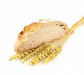 Sliced loaf of bread composition
