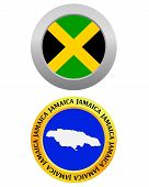 Button As A Symbol Map Jamaica