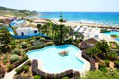 The Beach At Luxury Hotel, Peloponnes, Greece