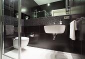 Modern Bathroom In Apartment