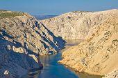 Canyon Of Zrmanja River In Croatia