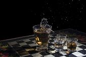 Alcoholic Checkers