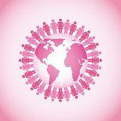 foto of world health organization  - breast cancer design - JPG
