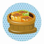 pic of chinese menu  - Chinese Food Theme Elements - JPG