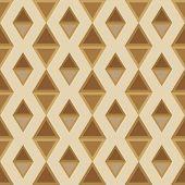 stock photo of rhombus  - pattern of rhombuses seamless brown palette - JPG