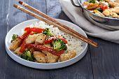 image of stir fry  - Chicken - JPG