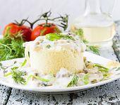 picture of vegetarian meal  - Vegetarian meal  - JPG