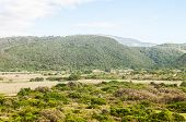 foto of wilder  - View across the Wilderness National Park near George towards the Ebb and Flow Camp - JPG