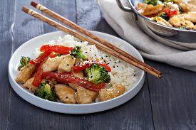 pic of stir fry  - Chicken - JPG