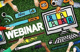 picture of seminar  - Webinar Online Seminar Global Communications Concept - JPG