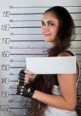 Smiling Girl In Prison
