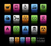 Science Icons// Colorbox Series