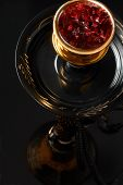 stock photo of shisha  - Studio shoots of an Egyptian water pipe - JPG