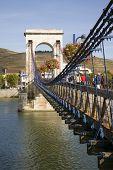 Bridge On The River Rhone