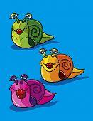 Snails Cartoon