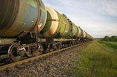 Oil transportation by rail