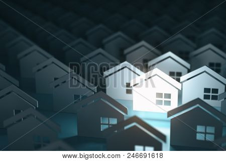Real estate property industry concept