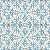 Vintage Wallpapers. Modern Geometric Pattern, Inspired By Vintage Wallpapers. Nice Retro Colors - Gr poster