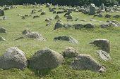 Sepulturas de Viking de pedra