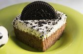 foto of bakeshop  - Chocolate cake with cookies and cream filling