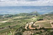 the golan heights and the Galilee - Israel