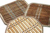 Bamboo Kitchen Trivets Set