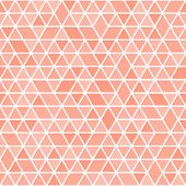 Geometric Pattern With Colored Triangles. Geometric Modern Ornament. Seamless Abstract Background poster