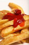 Ketchup And Chips