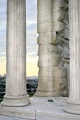 Greece, Athens - Acropolis, Erechtheum Detail