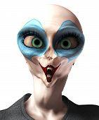 Alien Vampire Clown